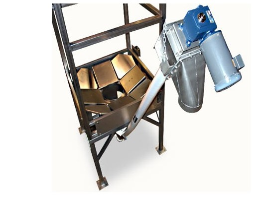 Bulk Bag Unloader with Screw Conveyor
