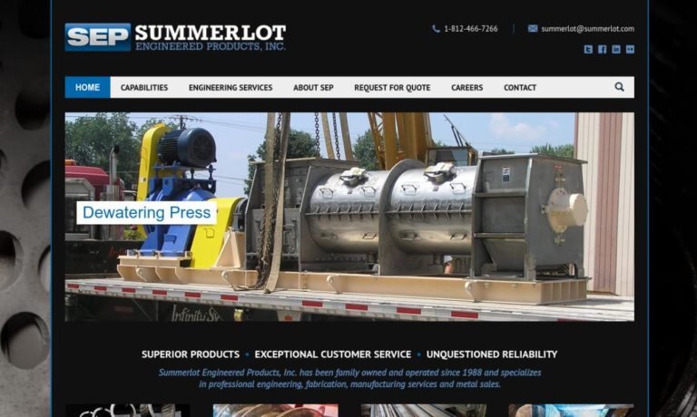 Summerlot Engineered Products, Inc.